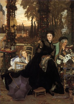 A Widow James Jacques Joseph Tissot Oil Paintings