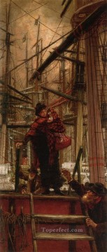 Emigrants James Jacques Joseph Tissot Oil Paintings