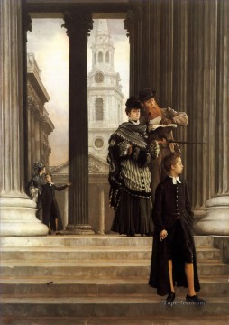 London Art - London Visitors James Jacques Joseph Tissot