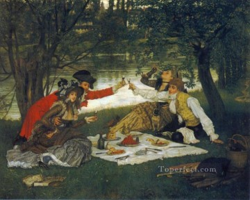Partie Carree James Jacques Joseph Tissot Decor Art