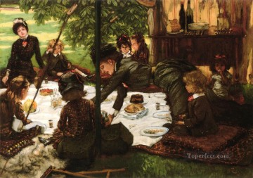 Childrens Party James Jacques Joseph Tissot Decor Art