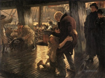 Return Art - The Prodigal Son The Return James Jacques Joseph Tissot