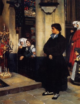 BT Painting - During the Service Martin Luthers Doubts James Jacques Joseph Tissot