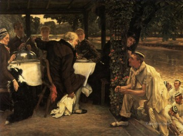 rod Canvas - The Prodigal Son The Fatted Calf James Jacques Joseph Tissot