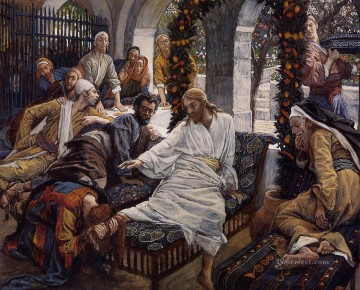 Mary Magdalenes Box of Very Precious Ointment James Jacques Joseph Tissot Oil Paintings