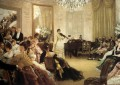 The Concert James Jacques Joseph Tissot