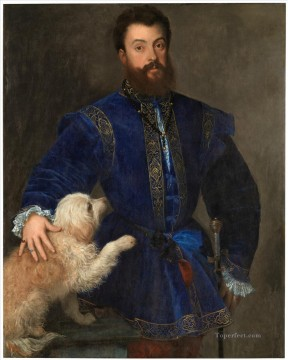 Federigo Gonzaga Duke of Mantua Tiziano Titian Oil Paintings
