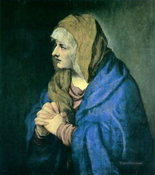 Mater Dolorosa Tiziano Titian Oil Paintings
