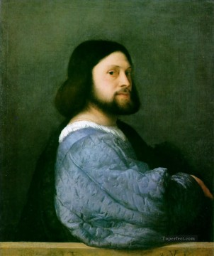 Portrait Ariosto Tiziano Titian Oil Paintings