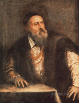 Self Portrait Tiziano Titian Oil Paintings