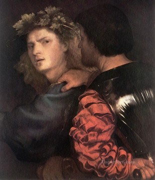 Titian Painting - The Bravo Tiziano Titian
