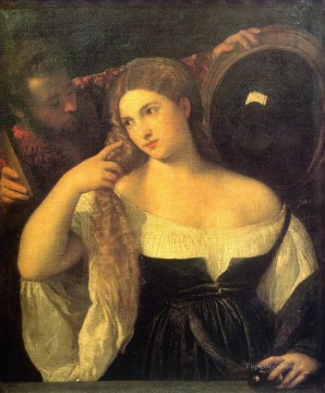 Vanitas 1515 Tiziano Titian Oil Paintings