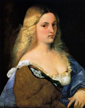 Violante Tiziano Titian Oil Paintings