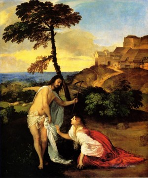 Noli me Tangere 1511 Tiziano Titian Oil Paintings