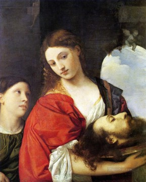 Salome 1512 Tiziano Titian Oil Paintings
