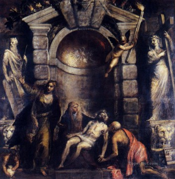 Pieta Tiziano Titian Oil Paintings