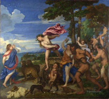 Bacchus and Ariadne Tiziano Titian Oil Paintings