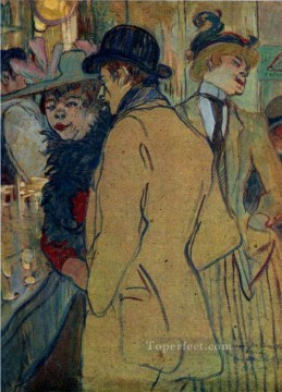 alfred la guigne 1894 Toulouse Lautrec Henri de Oil Paintings