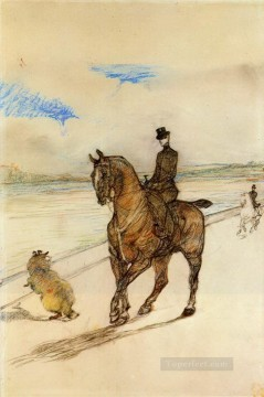 horsewoman 1899 Toulouse Lautrec Henri de Oil Paintings