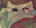 in bed 1893 Toulouse Lautrec Henri de