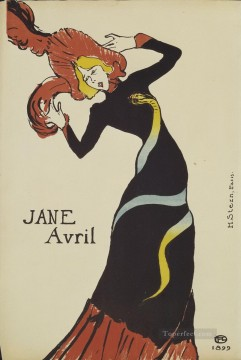 jane avril 1893 1 Toulouse Lautrec Henri de Oil Paintings