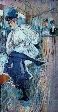 Dancing Art - jane avril dancing 1892 1 Toulouse Lautrec Henri de