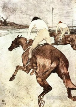 the jockey 1899 Toulouse Lautrec Henri de Decor Art