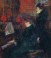 the singing lesson the teacher mlle dihau with mme faveraud 1898 Toulouse Lautrec Henri de