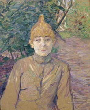 Henri de Toulouse Lautrec Painting - the streetwalker also known as casque d or 1891 Toulouse Lautrec Henri de
