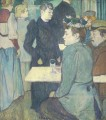 corner in the moulin de la galette 1892 Toulouse Lautrec Henri de