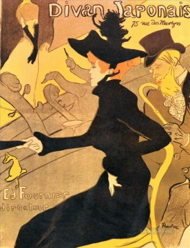 divan japonais 1893 Toulouse Lautrec Henri de Oil Paintings