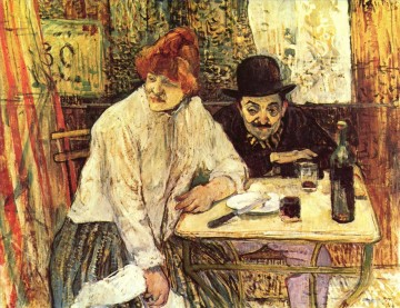 the last crunbs 1891 Toulouse Lautrec Henri de Oil Paintings
