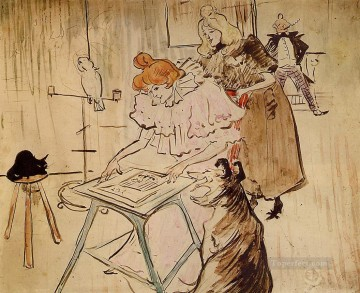 the motograph 1898 Toulouse Lautrec Henri de Oil Paintings