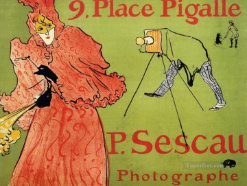 the photagrapher sescau 1894 Toulouse Lautrec Henri de Oil Paintings