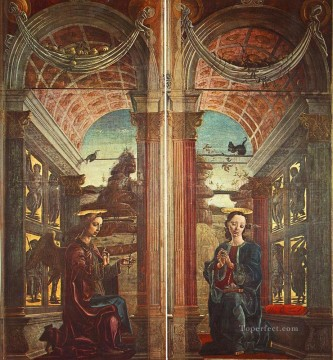 Annunciation Cosme Tura Oil Paintings