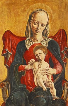Madonna With The Child Cosme Tura Oil Paintings