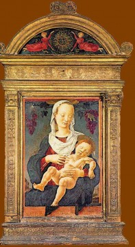 Cosme Tura Painting - The madonna Of The Zodiac Cosme Tura