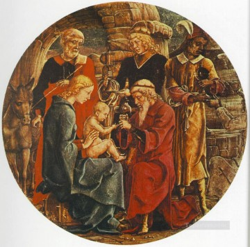 Cosme Tura Painting - Adoration Of The magi Cosme Tura