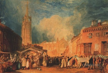 Louth Lincolnshire Romantic Turner Oil Paintings