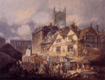 Woolverhampton Staffordshire Romantic Turner Oil Paintings