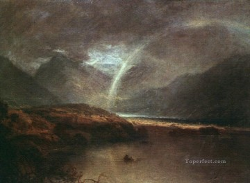 Buttermere Lake A Shower Romantic Turner Oil Paintings