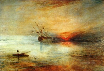 Fort Vimieux Romantic Turner Oil Paintings