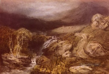 Turner Art - Mountain Stream Coniston Turner