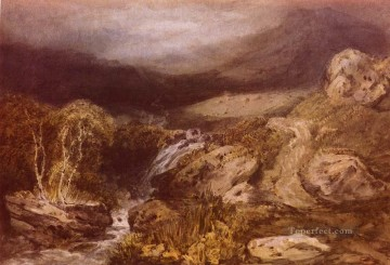 stream Painting - Mountains Stream Coniston Romantic Turner