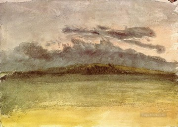 Turner Art - Storm Clouds Sunset Turner