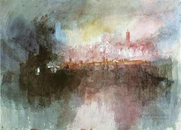 Turner Works - The Burning of the Houses of Parliament Turner