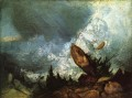 The Fall of an Avalanche in the Grisons Romantic Turner
