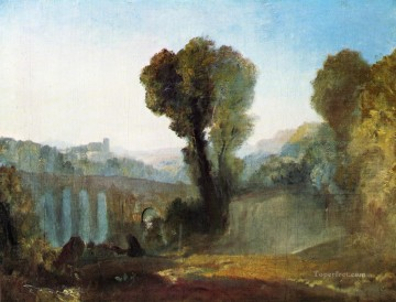 Joseph Mallord William Turner Painting - Ariccia Sunset Romantic Turner