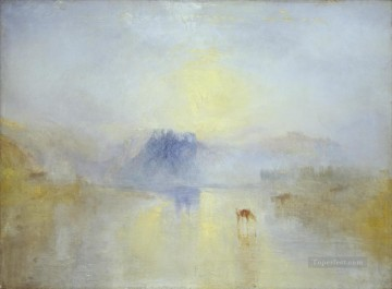 sunset sunrise Painting - Norham Castle Sunrise 2 Turner
