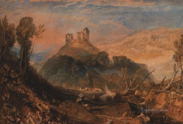 romantic romantism Painting - Okehampton Romantic Turner